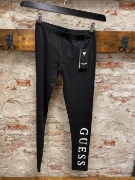 GUESS Leggings Logo schwarz